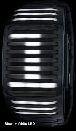 White LED watch Kisai Neutron