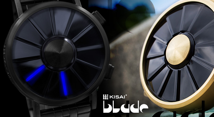 Kisai Blade LED watch