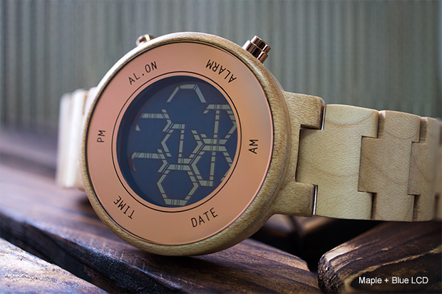 Maple ZONE LCD watch