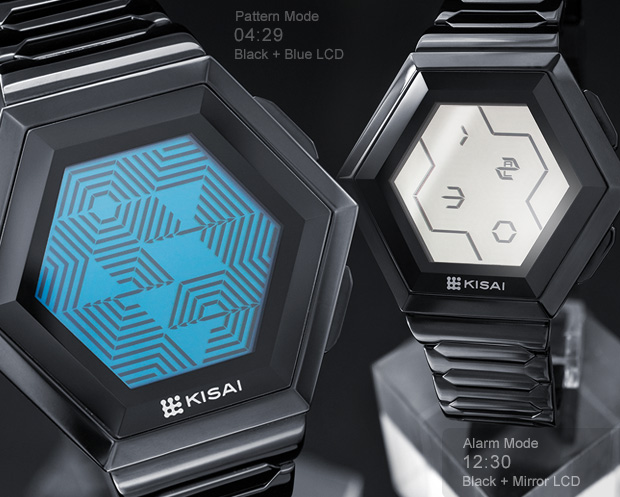 Quasar Colour LCD watches