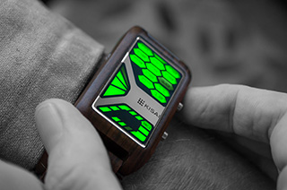 Futuristic Wrist Watch