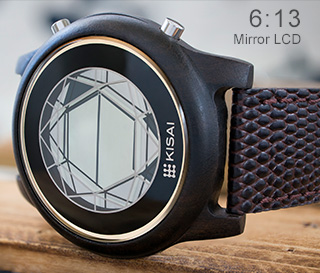 LCD watch mirror