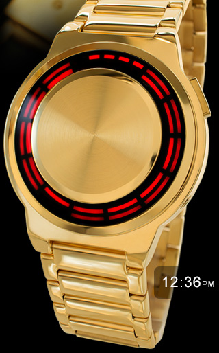 Kisai RPM gold with RED LED