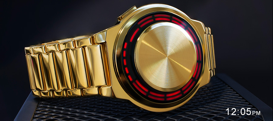 RPM Gold LED watch