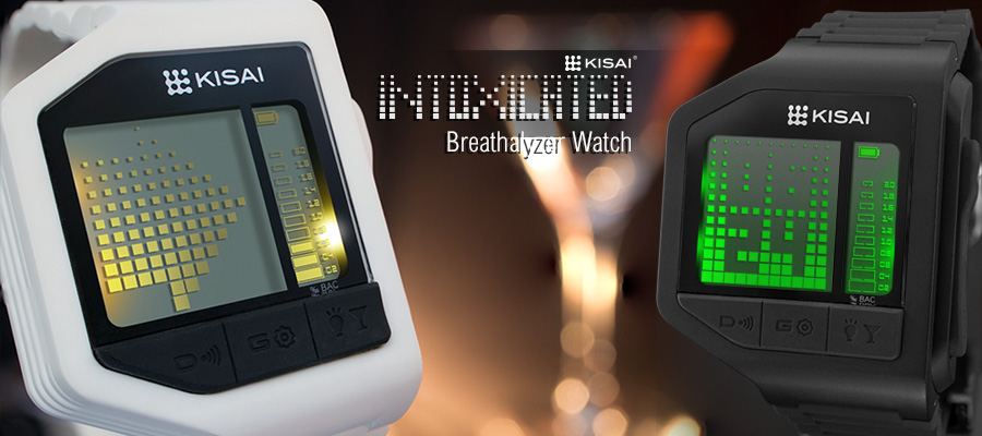 Kisai Intoxicated Breathalyzer watch