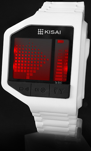 Drunk Level breathalyzer watch