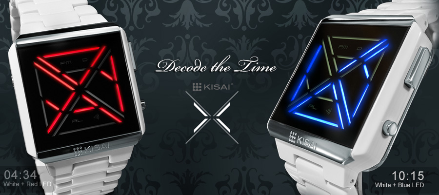 Kisai X Acetate LED watch