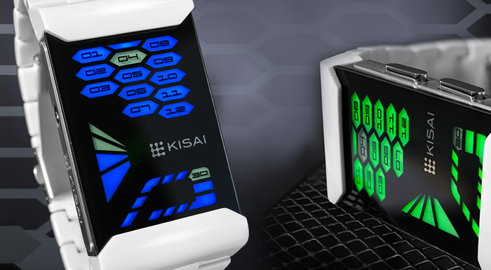 Kisai Console Acetate LED watch