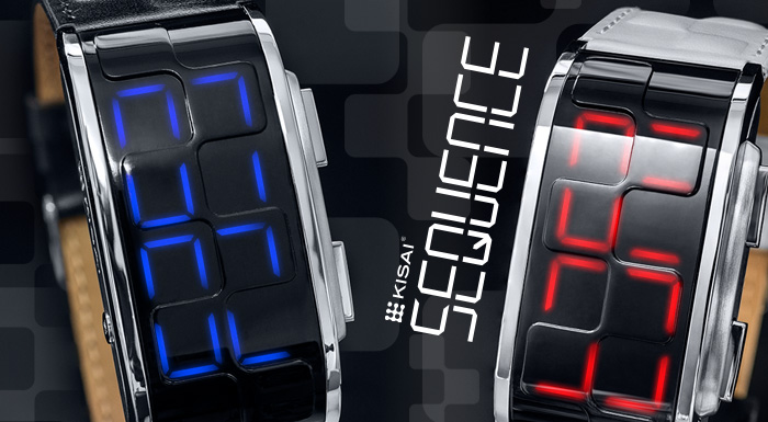 Kisai Sequence LED watch