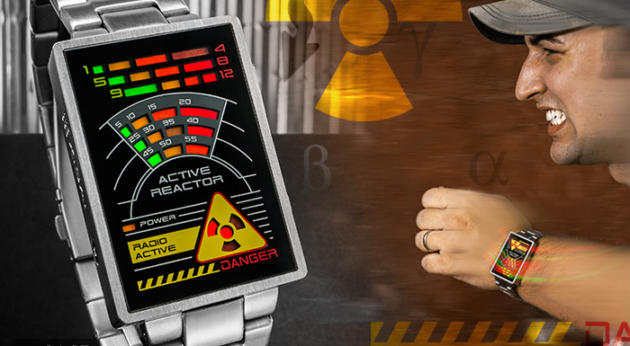 Kisai Radioactive LED watch