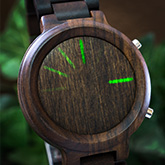Blade Wood Link Led Watches