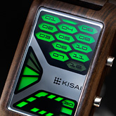 Console Wood Led Watches