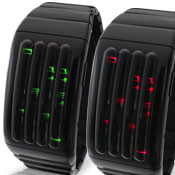 Keisan Black Led Watches