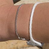 Link Fine Chain Bluetooth Bracelets