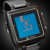 Logo Wood Lcd Watches