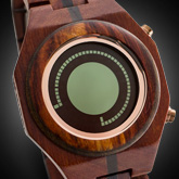 Maru Wood Lcd Watches
