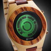 Rogue SR2 Wood Lcd Watches