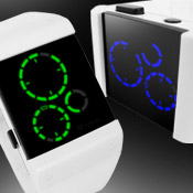 Satellite White Led Watches