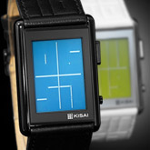 Stencil Lcd Watches