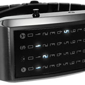 Star Performer IP Black Led Watches