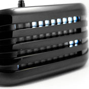Barcode IP Black Led Watches