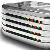Barcode SS Led Watches