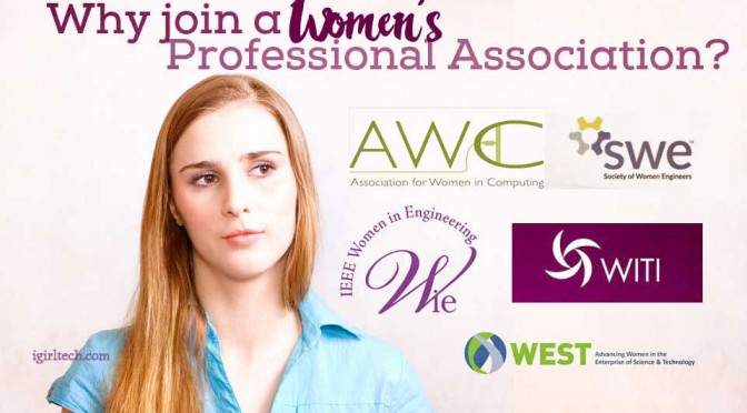 why join a women's professional association?
