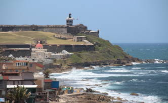 Fort El Morro view from San Cristobal