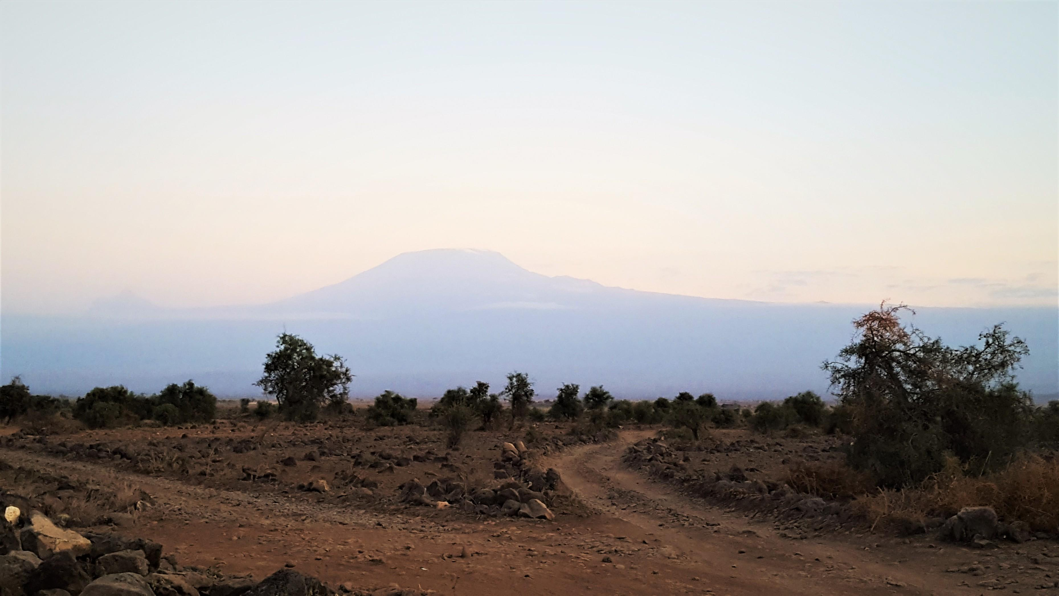 Mount Kilimanjaro - Evening Sunset