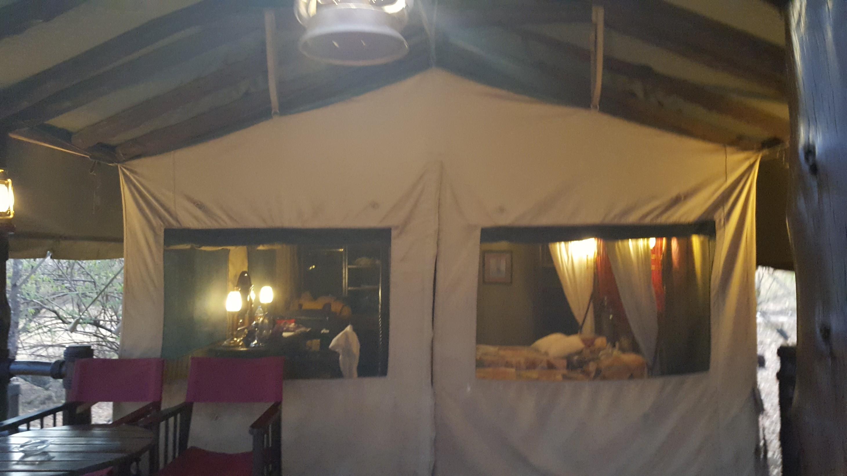 Luxury Tented Camp in Kirawira Serena