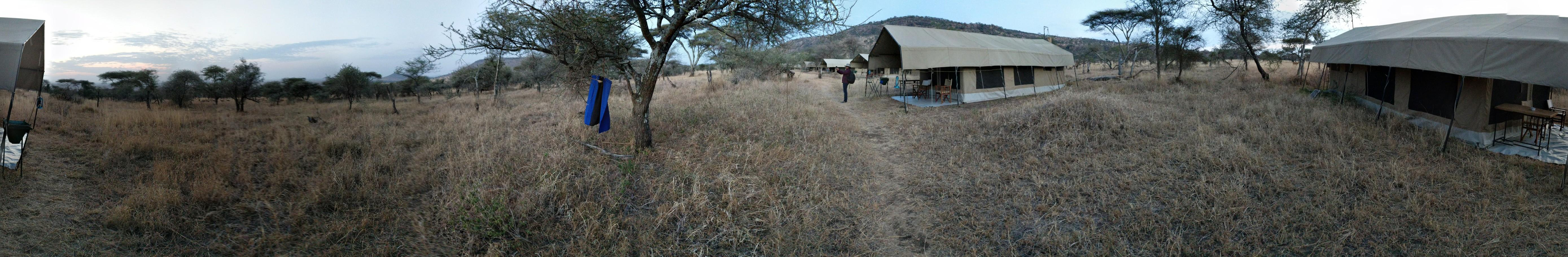 Kati Kati Tented Camp - Panaromic View