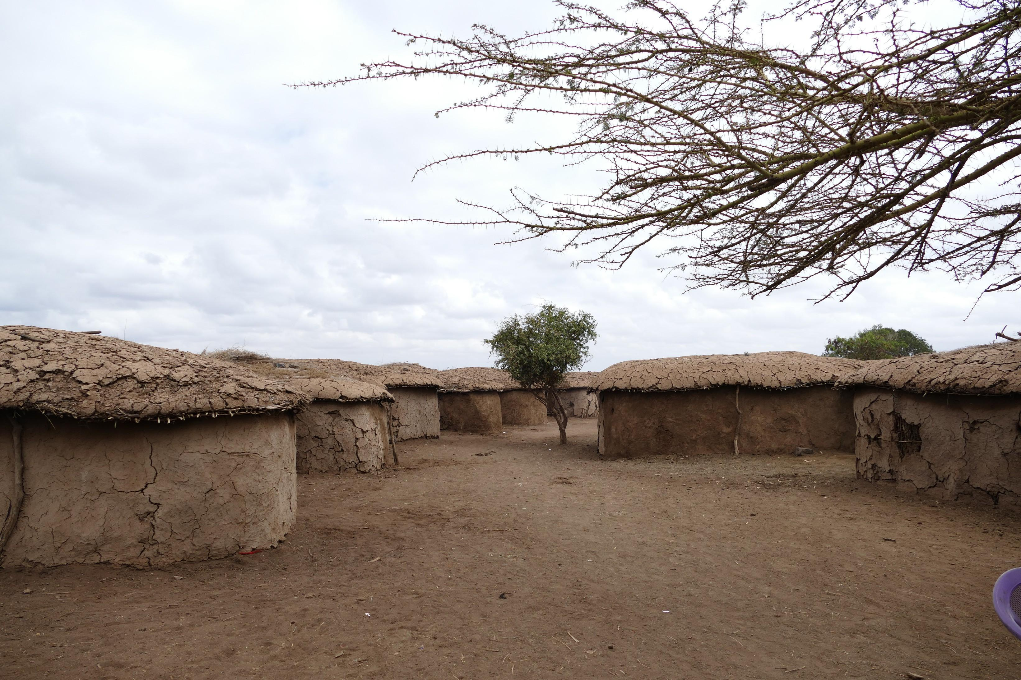 Maasai Mud homes