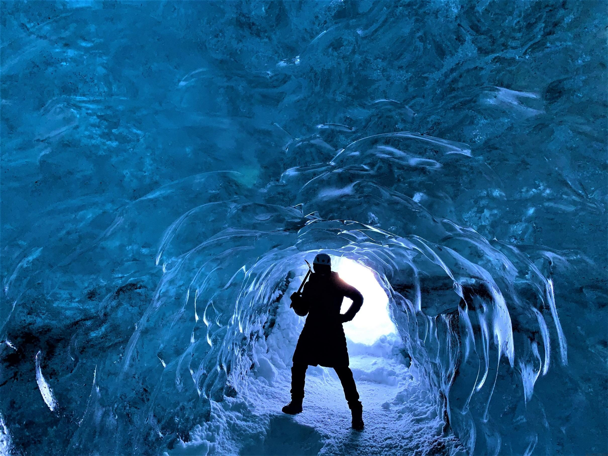 Blue Ice Cave - Hidden Jewel on Vatnajokull Glacier · Corners of the World