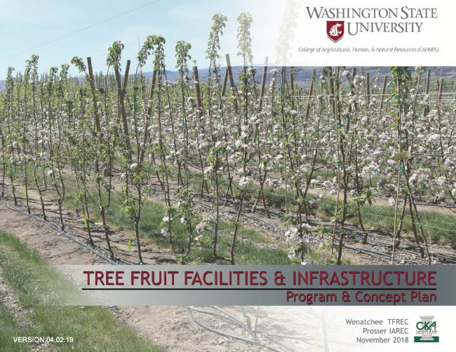 Tree Fruit Facilities & Infrastructure Program & Concept Plan front cover