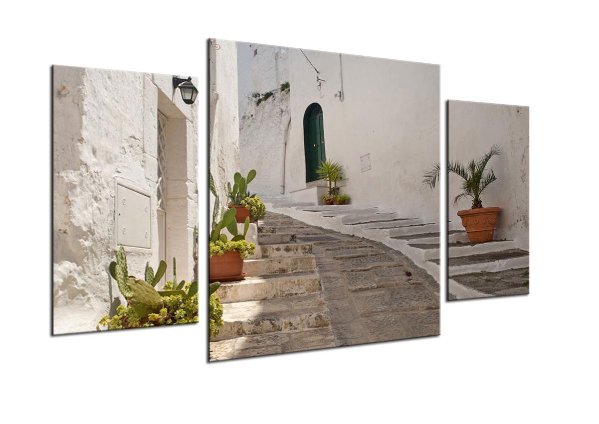 Quadri moderni grandi decorativi 3 pezzi trittico da cucina salone bur pub arte ebay - Quadri moderni cucina ...