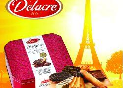 經典法國傳奇Delacre喜樂嘉曲奇, 呈現新春賀年大禮