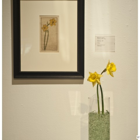 Designer: Diana Patterson, ASID Association: ASID Gallery: 1st Floor, Main Artist: Bertha E. Jaques Narcissus, 1927