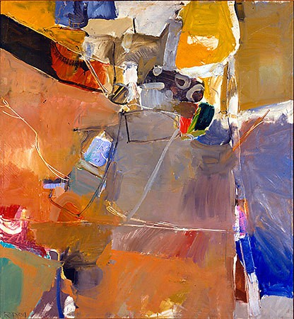 Richard Diebenkorn  Berkeley #19, 1954