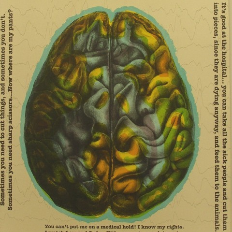 Peterson, Richard. My Brain on Scopolamine, 2010