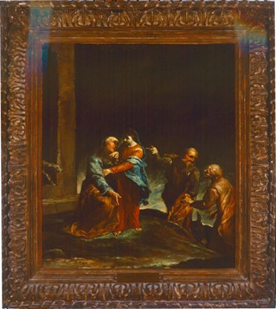 The Visitation, Giuseppe Maria Crespi, c. 1710