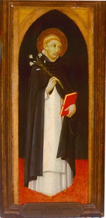 Saint Dominic, by a follower of  Sano di Pietro, c. 1480
