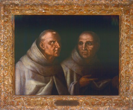 Two Olivetan Monks, Francesco Morone, c. 1505