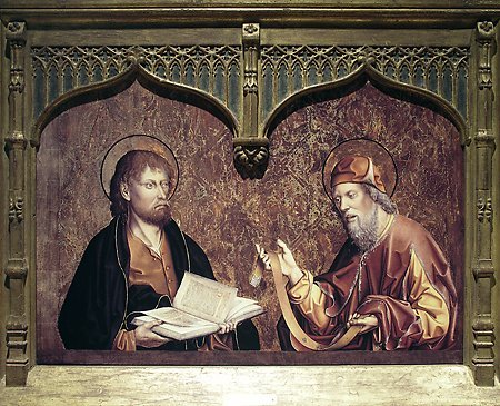 St. Mark and St. Thomas, Fernando Gallego, 1480-1488