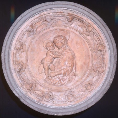 Madonna and Child, Workshop of  Luca della Robbia, 15th century