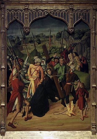 The Way to Calvary, Maestro Bartolomé, 1480-1488