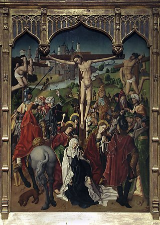 The Crucifixion, Maestro Bartolomé, 1480-1488