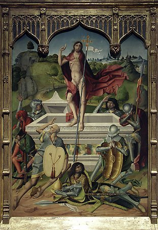 The Resurrection, Maestro Bartolomé, 1480-1488