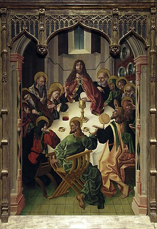 The Last Supper, Maestro Bartolomé, 1480-1488
