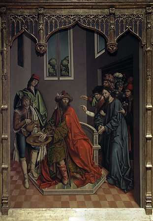 Pilate Washing His Hands, Fernando Gallego, 1480-1488