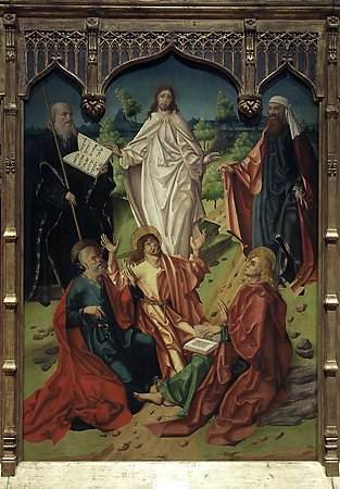 The Transfiguration, Maestro Bartolomé, 1480-1488